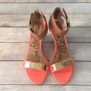 Sam Edelman Serena Wedge Sandals 6.5M
